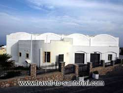 Museum of prehistoric thera Santorini Greece